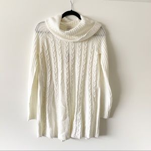 NEW $79 Cupio Women's Ivory Long Sleeve Sweater